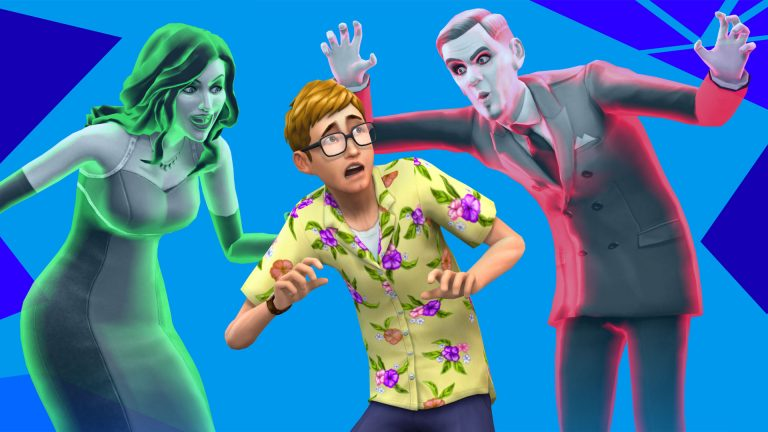 Ghosts manifest in The Sims 4!