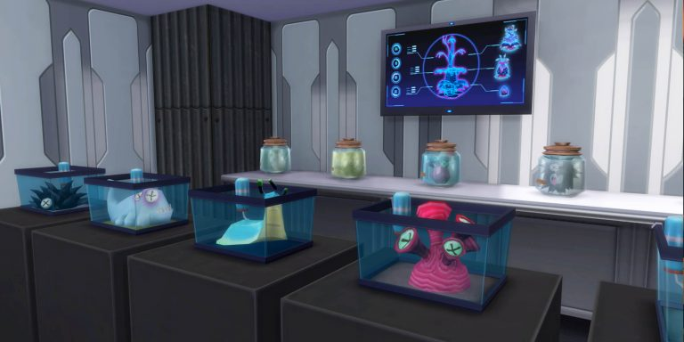 Where to find Alien Collectibles in The Sims 4
