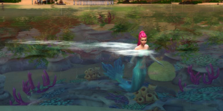 How to Get Mermaids in The Sims 4