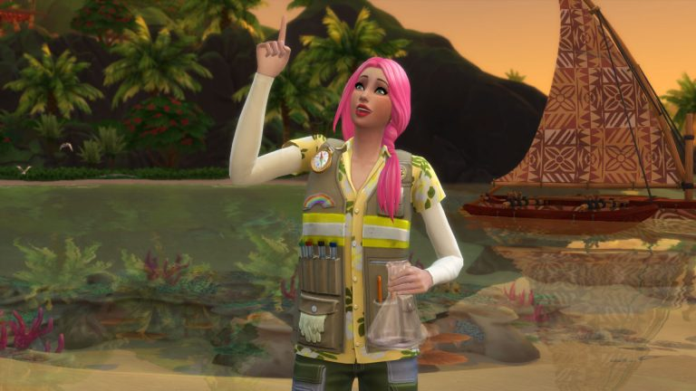 Save Sulani as a Conservationist in The Sims 4 Island Living