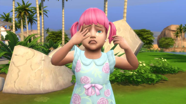 No toddlers or pools in The Sims 4?!