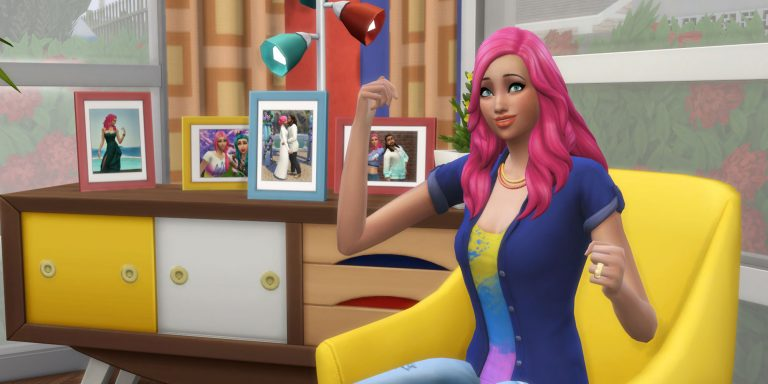 The Sims 4 Update: New Ways to Display Photographs