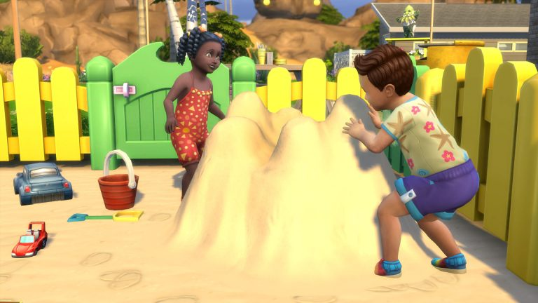 Build a Working Sandpit in Other Worlds with Island Living!