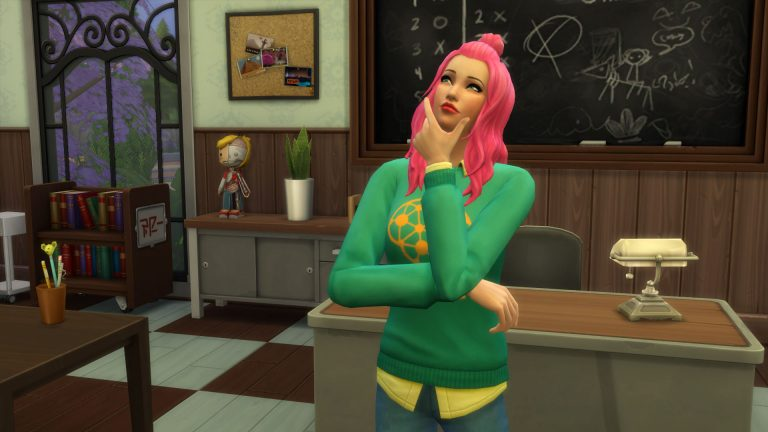 The Sims 4 University might be up next!