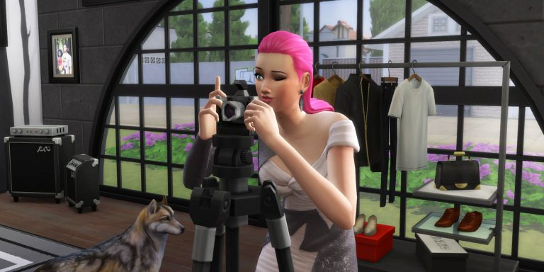 Become a Freelance Fashion Photographer in The Sims 4