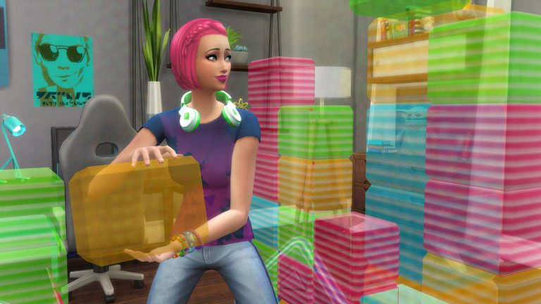 Join the Video Game industry as a Tech Guru in The Sims 4