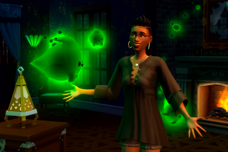 Teasers for potential Sims 4 Ghost Hunting pack spotted