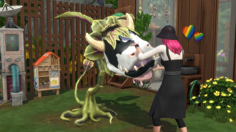How to get the Cowplant in The Sims 4