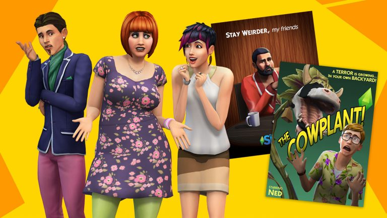 New gameplay trailers for The Sims 4: Smarter Sims, Weirder Stories